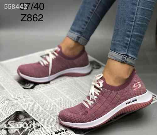 کفش اسپورت زنانه  زرشکی 99 2020
