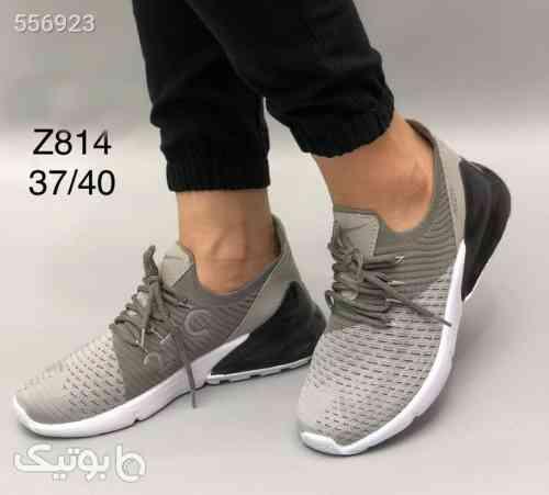 کفش اسپورت شیک زنانه  نقره ای 99 2020