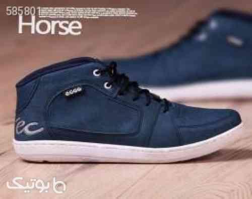 کفش مردانه ساق دار ecco مدل Horse  آبی 99 2020