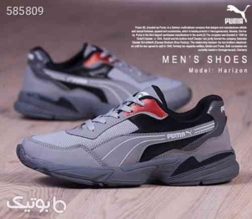 کفش مردانه PUMAمدل harizon  طوسی 99 2020