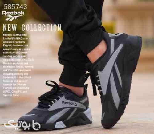 کفش مردانه reebok مدل hanz  طوسی 99 2020