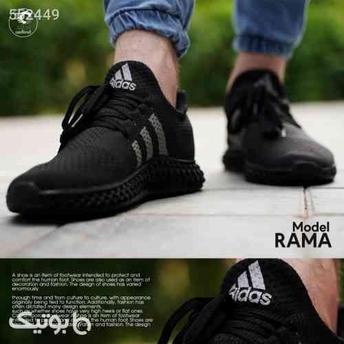 کفش پیاده روی مردانه مدل Rama مشکی 99 2020