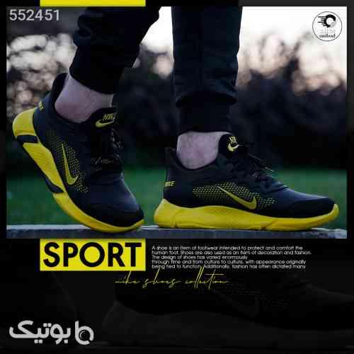 کفش پیاده روی مردانه مدل Sport زرد 99 2020