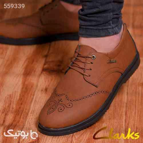 کفش مردانه مجلسی janet قهوه ای 99 2020