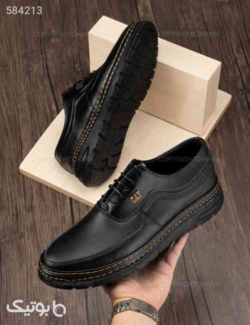 کفش مردانه Cat مدل 15025 مشکی 99 2020
