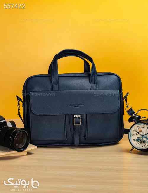 کیف اداری Dior مدل 13557 سورمه ای 99 2020