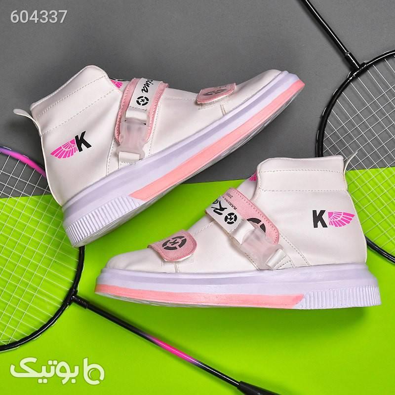 کفش ساقدار دخترانه Kiara صورتی بوت زنانه