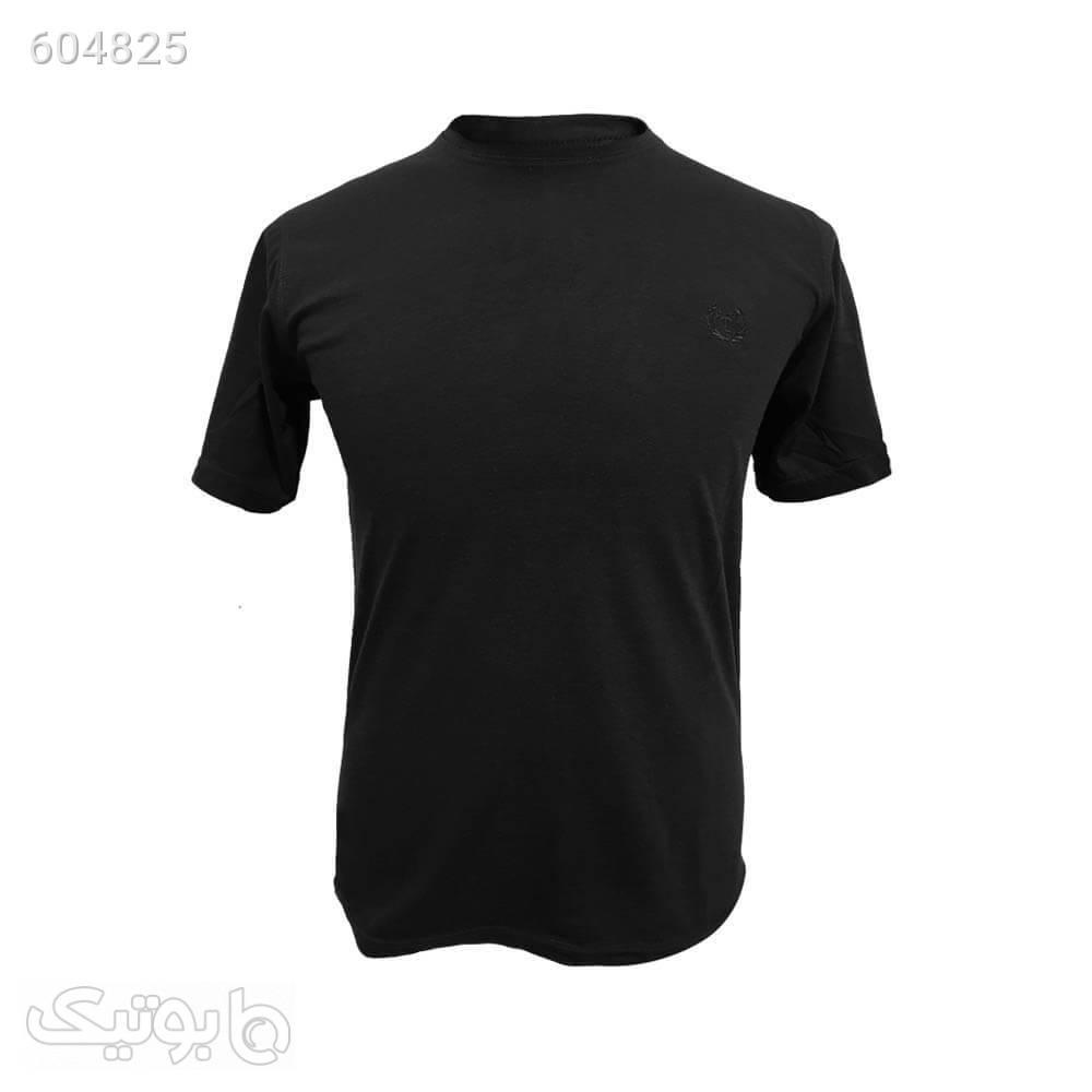 تیشرت ساده تروما 12204876 مشکی تی شرت و پولو شرت مردانه