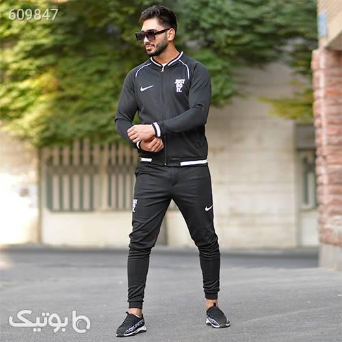 ست سوئيشرت شلوارNike مدلNihad مشکی ست ورزشی مردانه