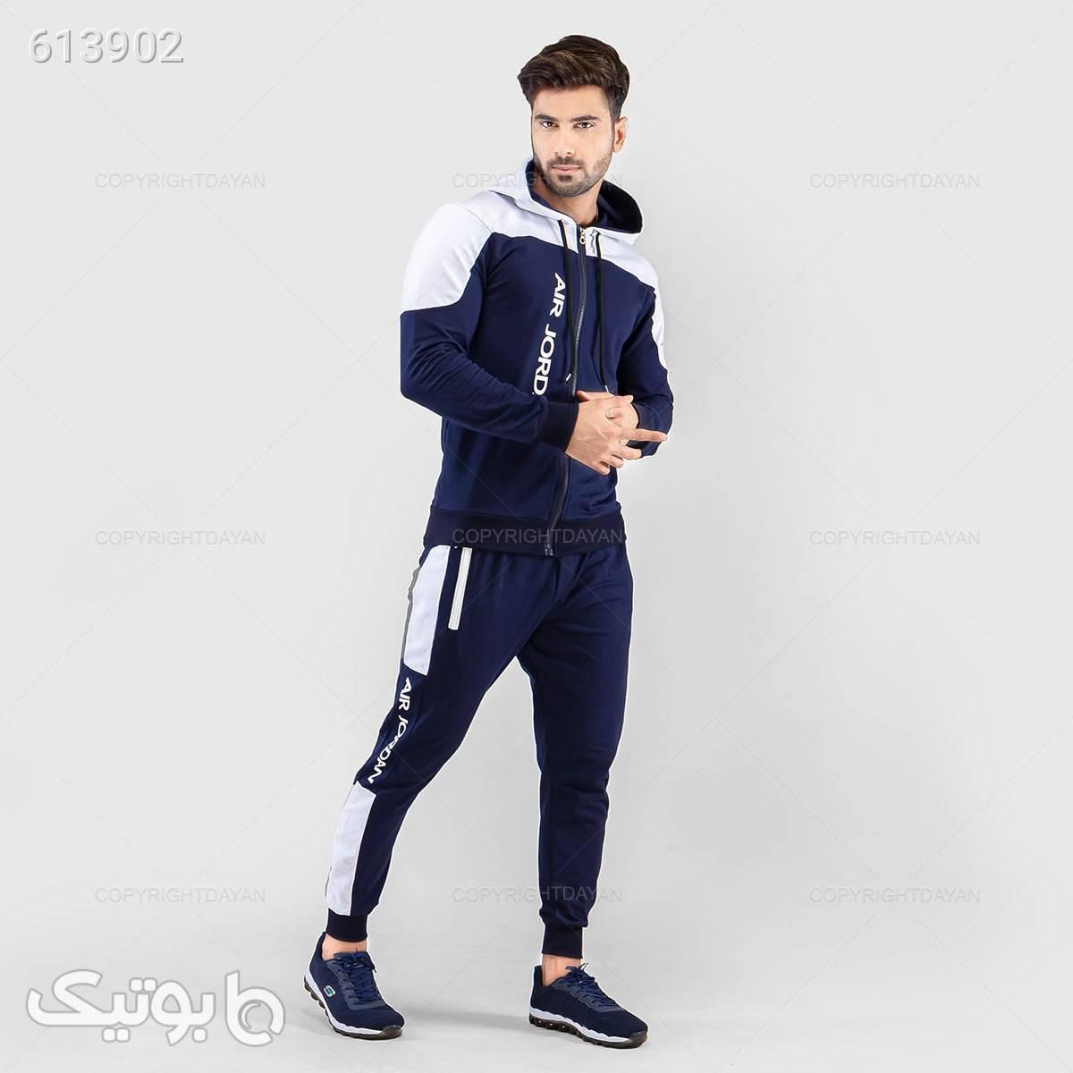 سویشرت و شلوار جردن  آبی سوئیشرت و هودی مردانه