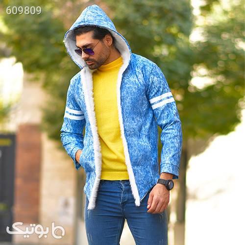 هودي مردانه مدل Mehrad آبی سوئیشرت و هودی مردانه