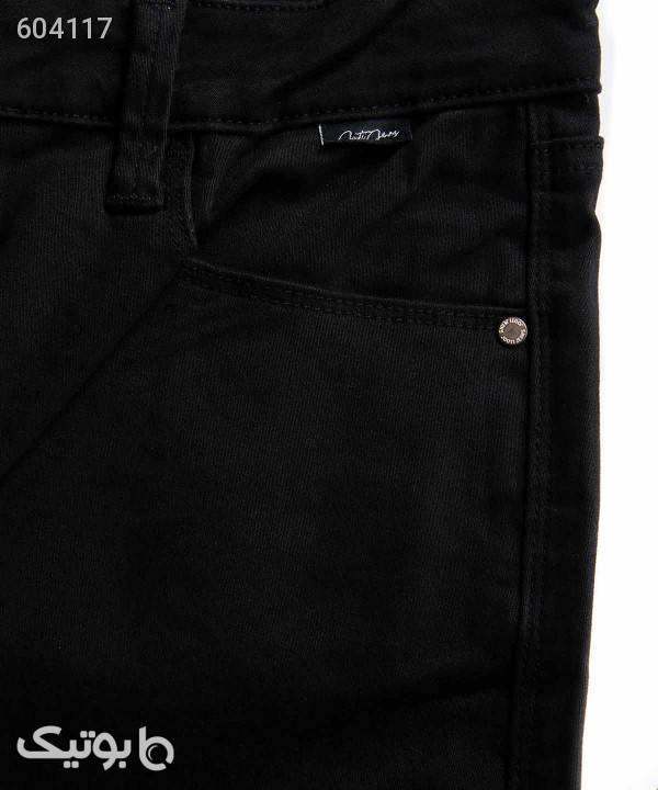 شلوار جین زنانه جوتی جینز Jootijeans مدل 94789707 مشکی شلوار پارچه ای و کتانی زنانه