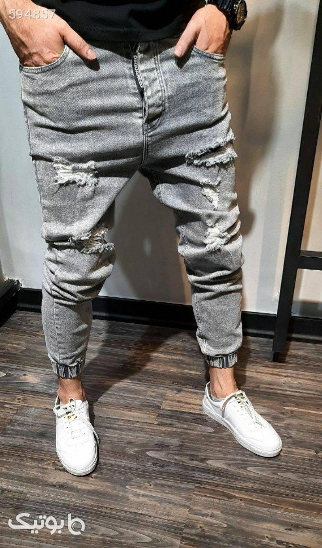 شلوار جین پارچه ترک آبی شلوار مردانه پارچه ای و کتان مردانه