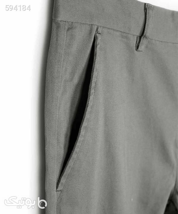 شلوار کتان مردانه جین وست Jeanswest کد 01151501 طوسی شلوار مردانه پارچه ای و کتان مردانه