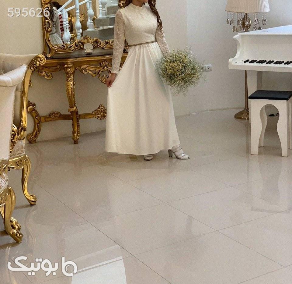 مانتوعروس سفید لباس عروس