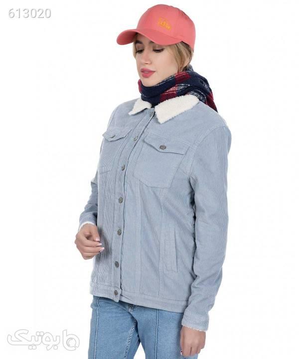 کاپشن کبریتی زنانه جوتی جینز JootiJeans کد 94722202 فیروزه ای کاپشن و بارانی زنانه