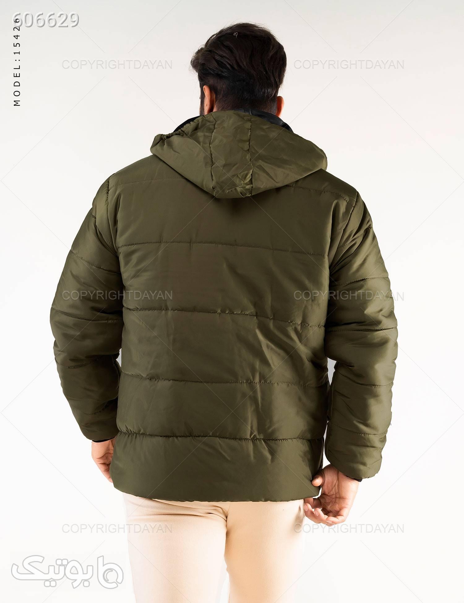خرید کاپشن مردانه سبز کاپشن و بارانی مردانه