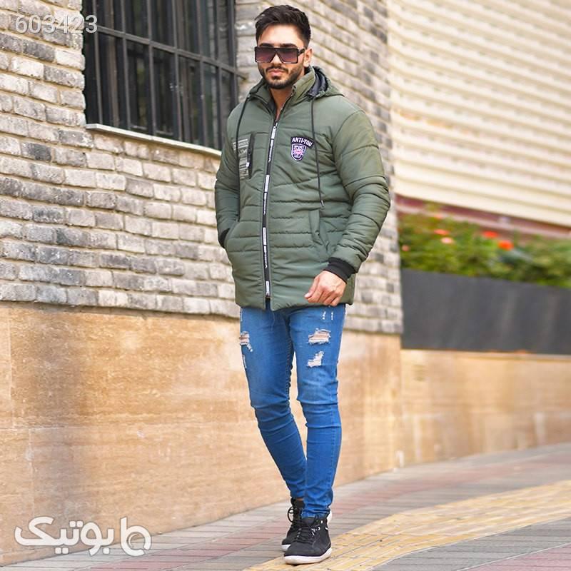 کاپشن پشم شیشه Fardad سبز کاپشن و بارانی مردانه