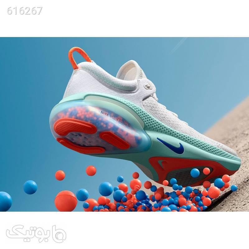 کتانی اورجینال دخترانه نایک جوی راید Nike Joyride Run Flyknit  سفید كتانی زنانه