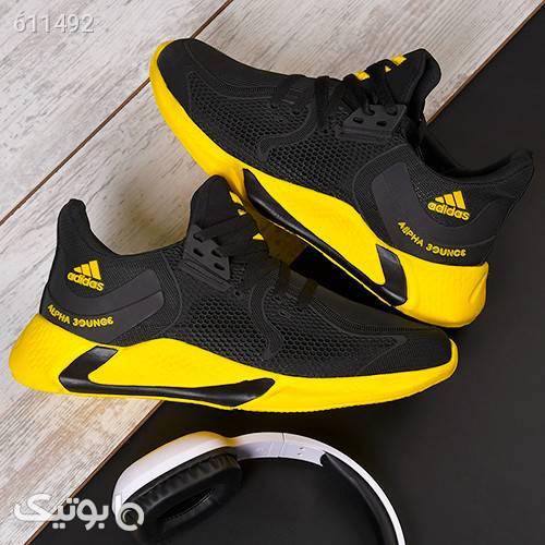 كفش مردانه Adidas مدلAbel زرد كتانی مردانه