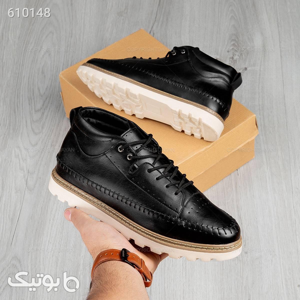 کفش ساقدار آراز  مشکی كفش مردانه