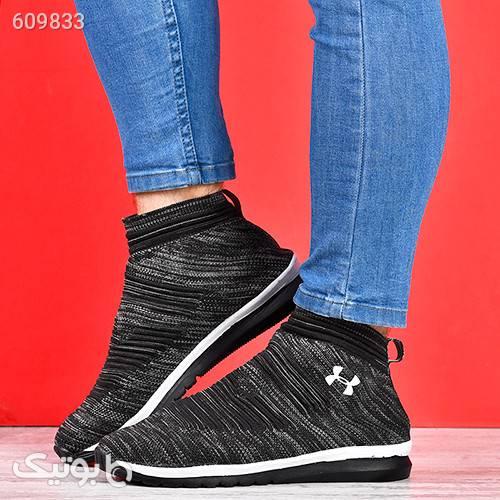 كفش ساقدار مردانه مدلMarcel مشکی كفش مردانه