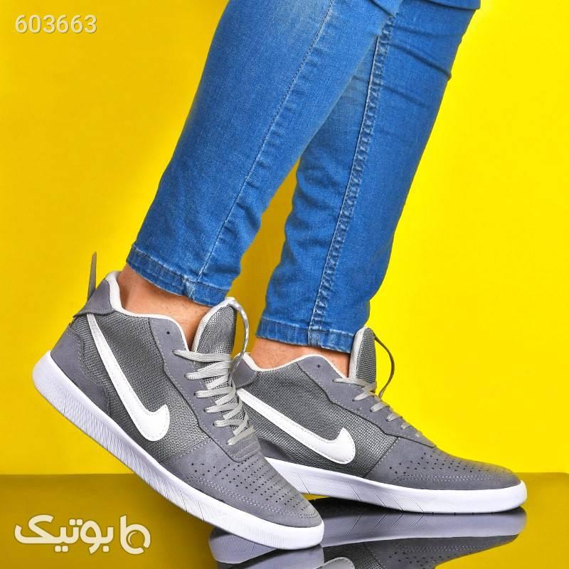 کفش مردانه مدل Biks نقره ای كفش مردانه