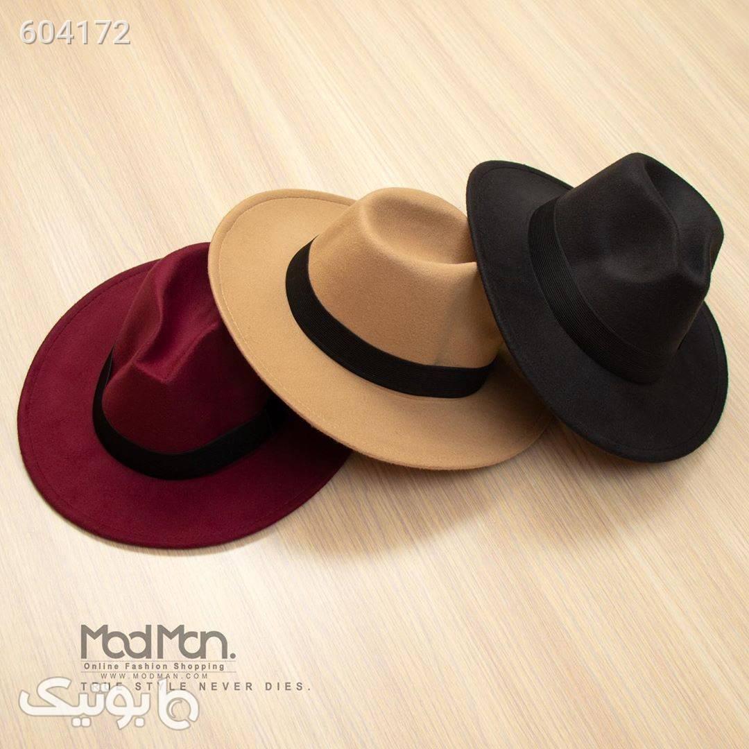 کلاه FEDORA کرم کلاه و اسکارف