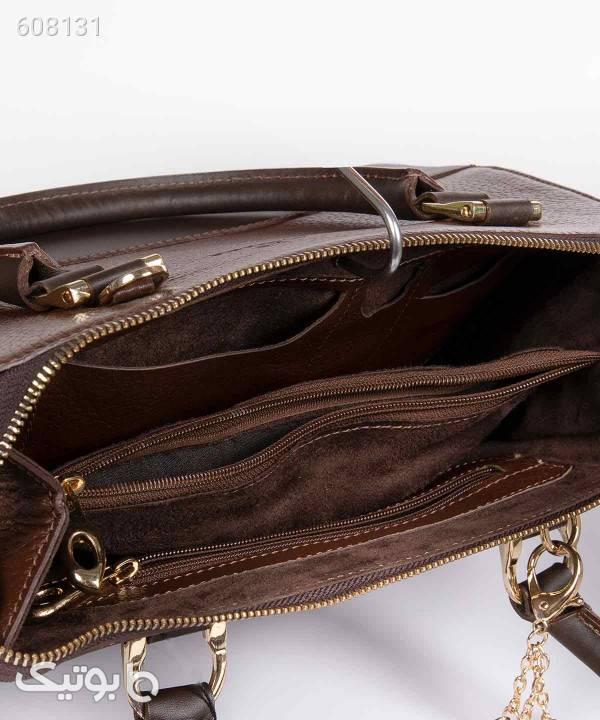 کیف چرم زنانه شیفر Shifer مدل 9927B قهوه ای كيف زنانه