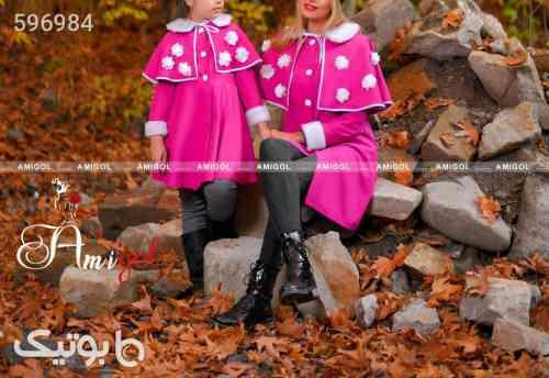 ست مادر و دختر پروا پاییزه بنفش 99 2020