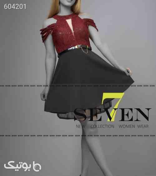 لباس مجلسی مدل السا کوتاه مشکی 99 2020