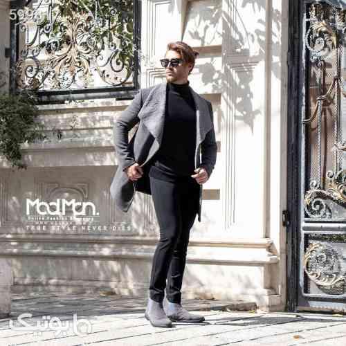 نیم پالتو مردانه Dolce & Gabbana طوسی 99 2020