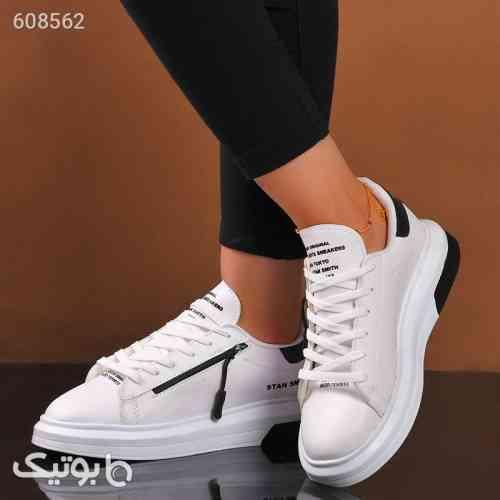 كفش دخترانه مدل stan smith  سفيد سفید 99 2020