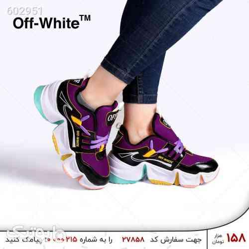 کفش زنانه OFF-WHITE مدل 1226 مشکی 99 2020