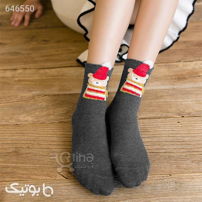 جوراب عروسکی نیم ساق زنانه مدل SD2 مشکی جوراب و پاپوش