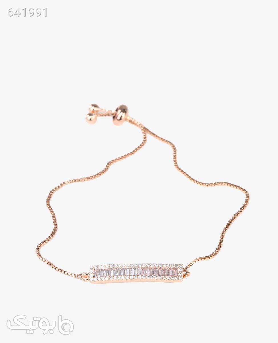 دستبند زنانه مدل 3628رزگلد طلایی دستبند و پابند