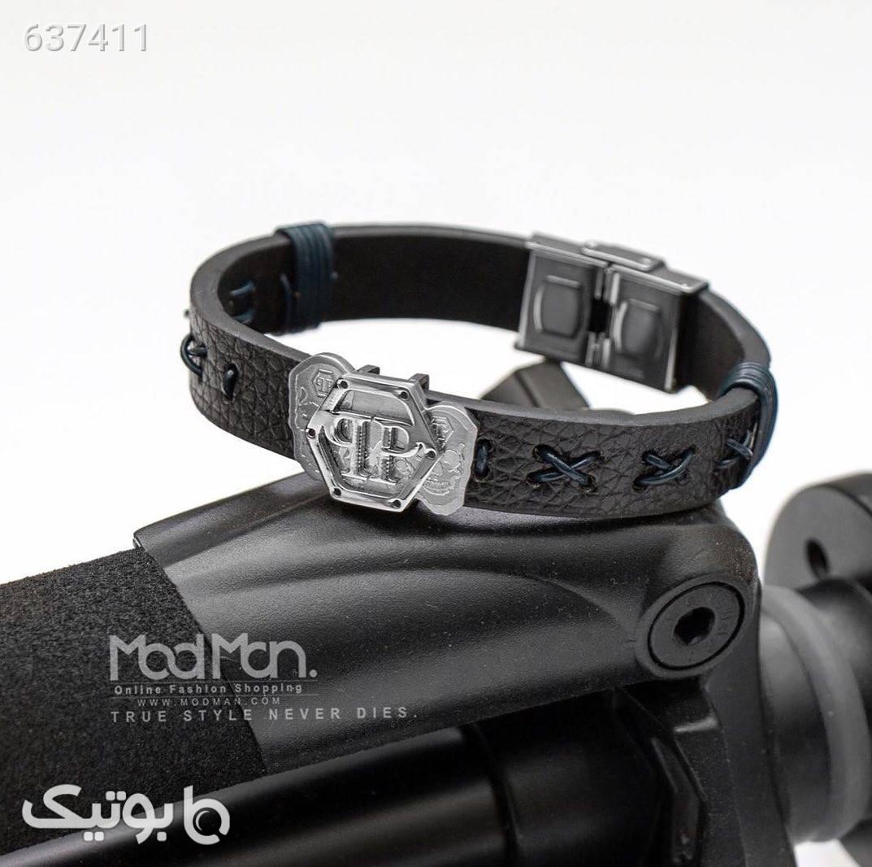 دستبند چرم PHILIPP PLEIN مشکی دستبند و پابند