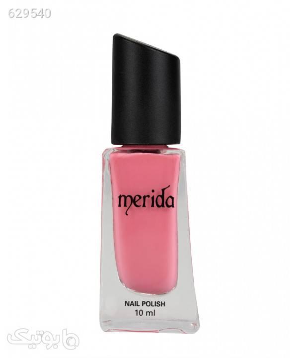 لاک ناخن براق مریدا Merida حجم 10 میلیلیتر صورتی زیبایی ناخن ها