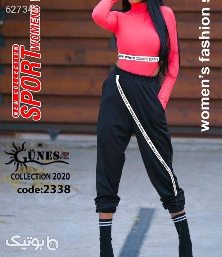 ست بادی و شلوار اسلش  ست ورزشی زنانه