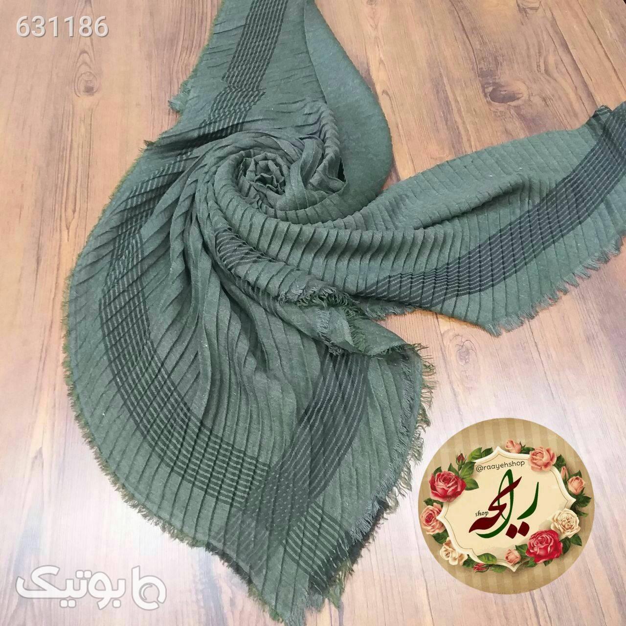 روسری پاییزه قرمز شال و روسری