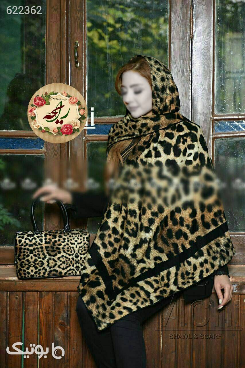 ست کیف و روسری قهوه ای شال و روسری