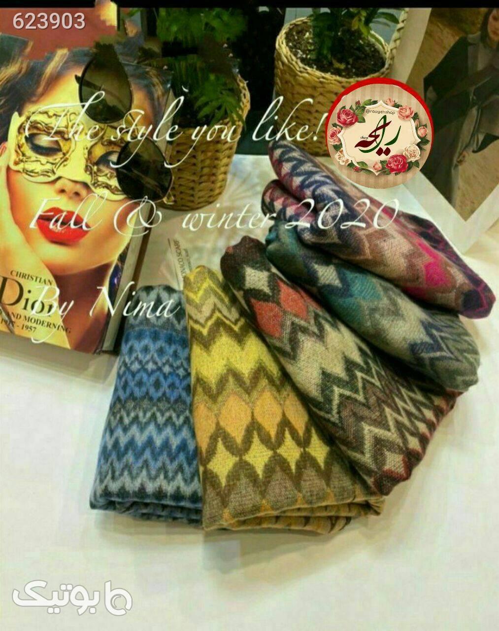 شال موهر طلایی شال و روسری