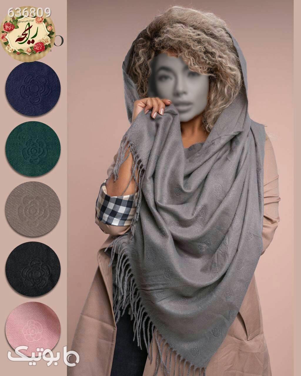 شال موهر صورتی شال و روسری