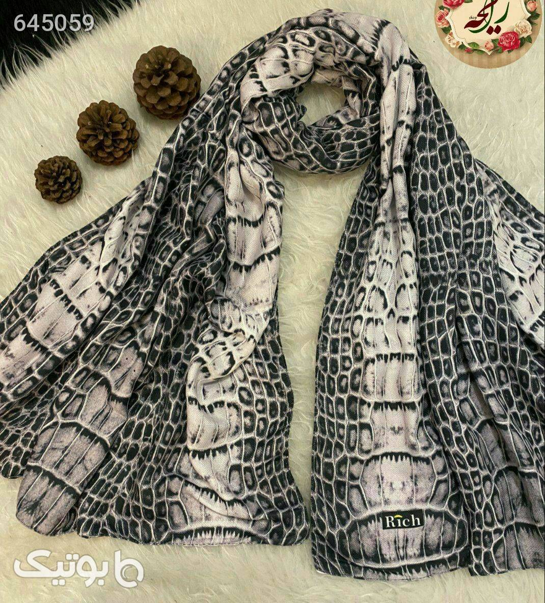 شال نخی پاییزه نقره ای شال و روسری