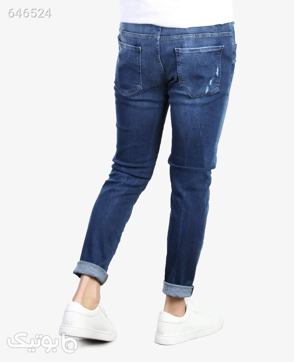 شلوار جین زاپدار مردانه Dsquared2 کد 97441DarkBlue30 آبی شلوار جین مردانه