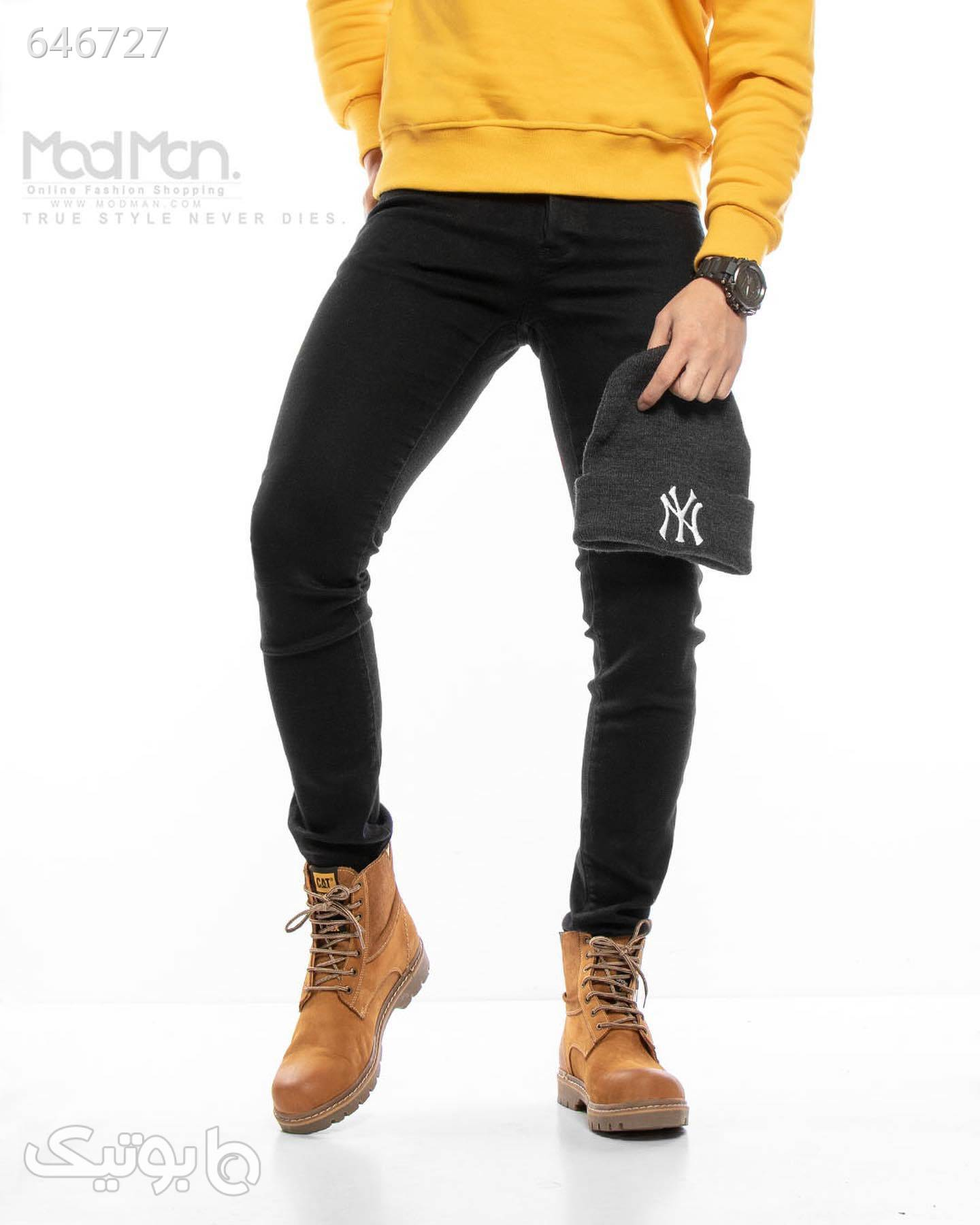 شلوار جین مشکی شلوار جین مردانه