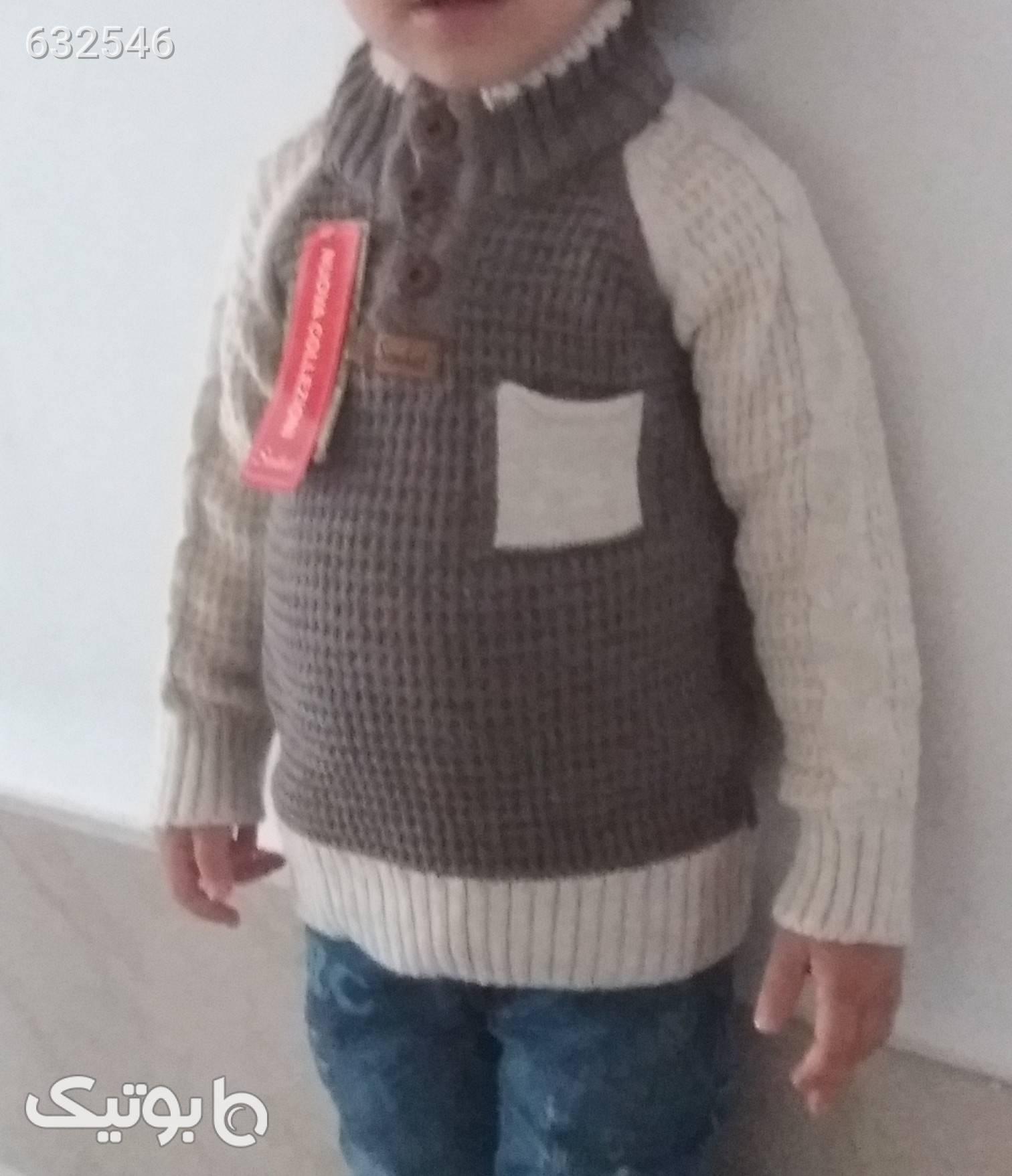 بافت پسرانه ترک مشکی لباس کودک پسرانه