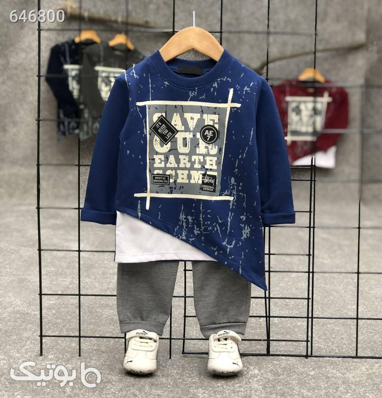 بلوز شلوار دورس مشکی لباس کودک پسرانه