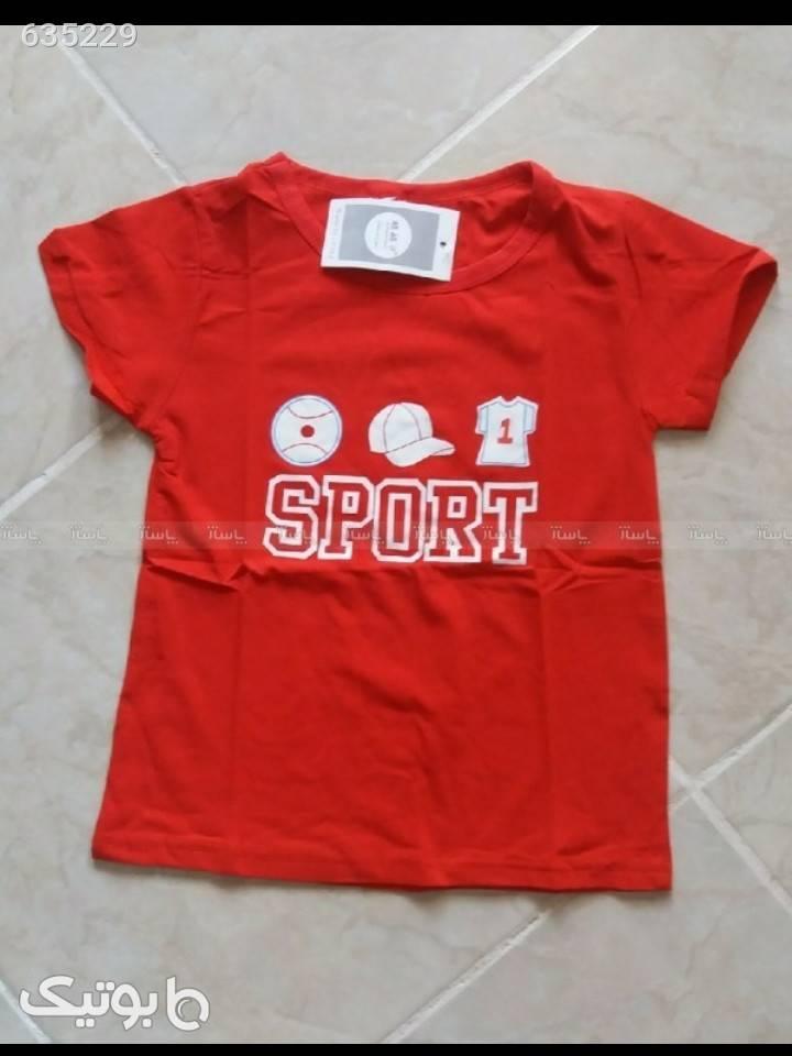 تی شرت پسرانه صورتی لباس کودک پسرانه