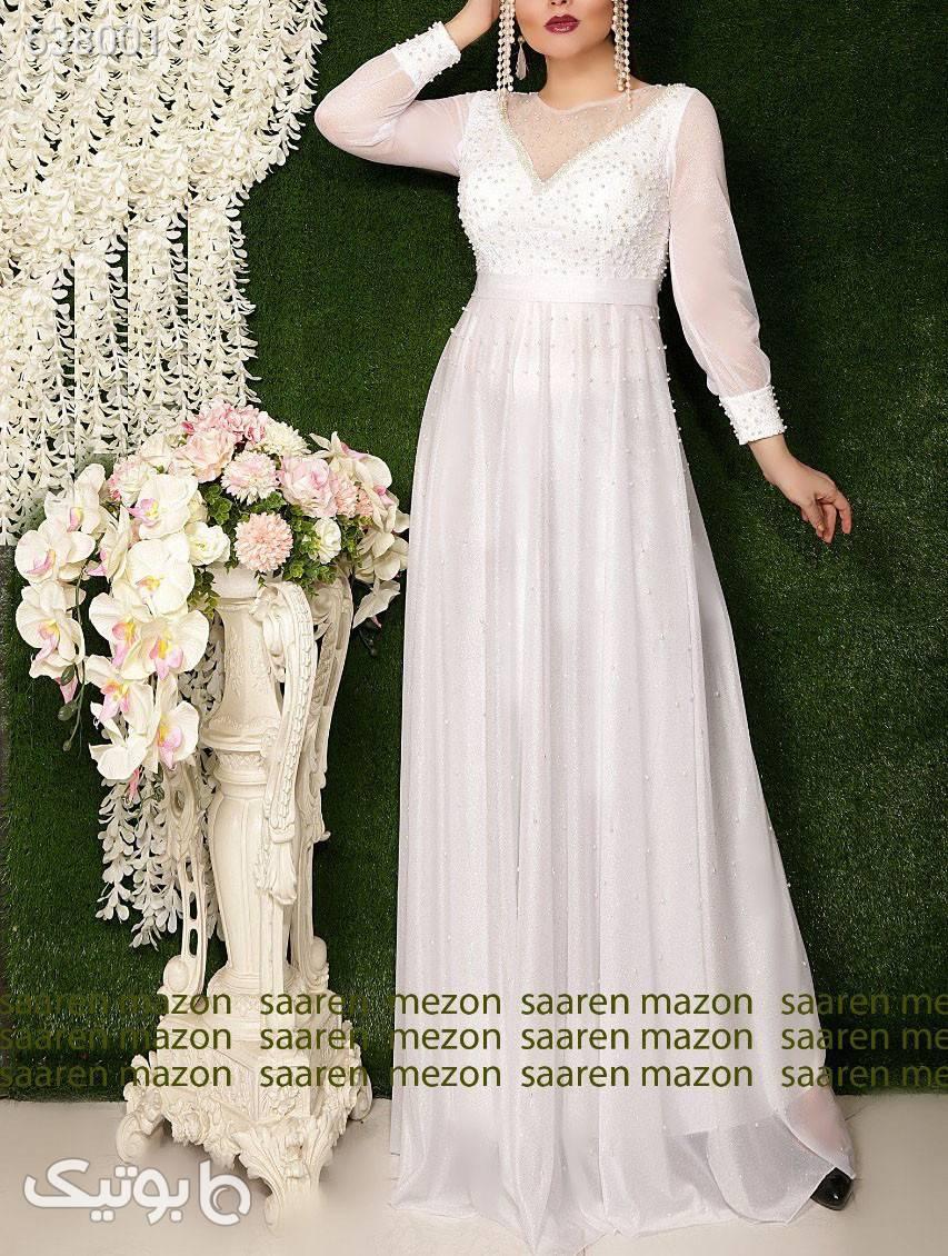 لباس بلند مجلسی  صورتی لباس  مجلسی